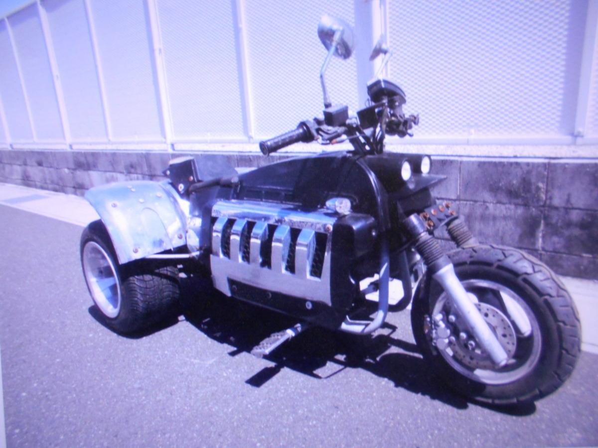 「珍車キットバイクGW3輪4ST排気量不明ばら売りOKマニア館バイクパ-ツ株式会社ギフトップトレ-ディング」の画像1