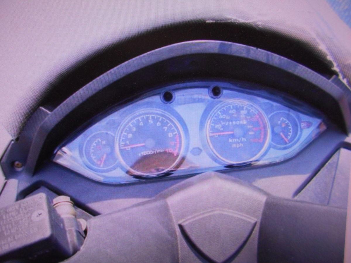 「絶版廃盤旧車輸入車中国製 WACOX125 部品取り車★マニア館 部品ばら売り車両 ギフトップ トレ-ディング」の画像2