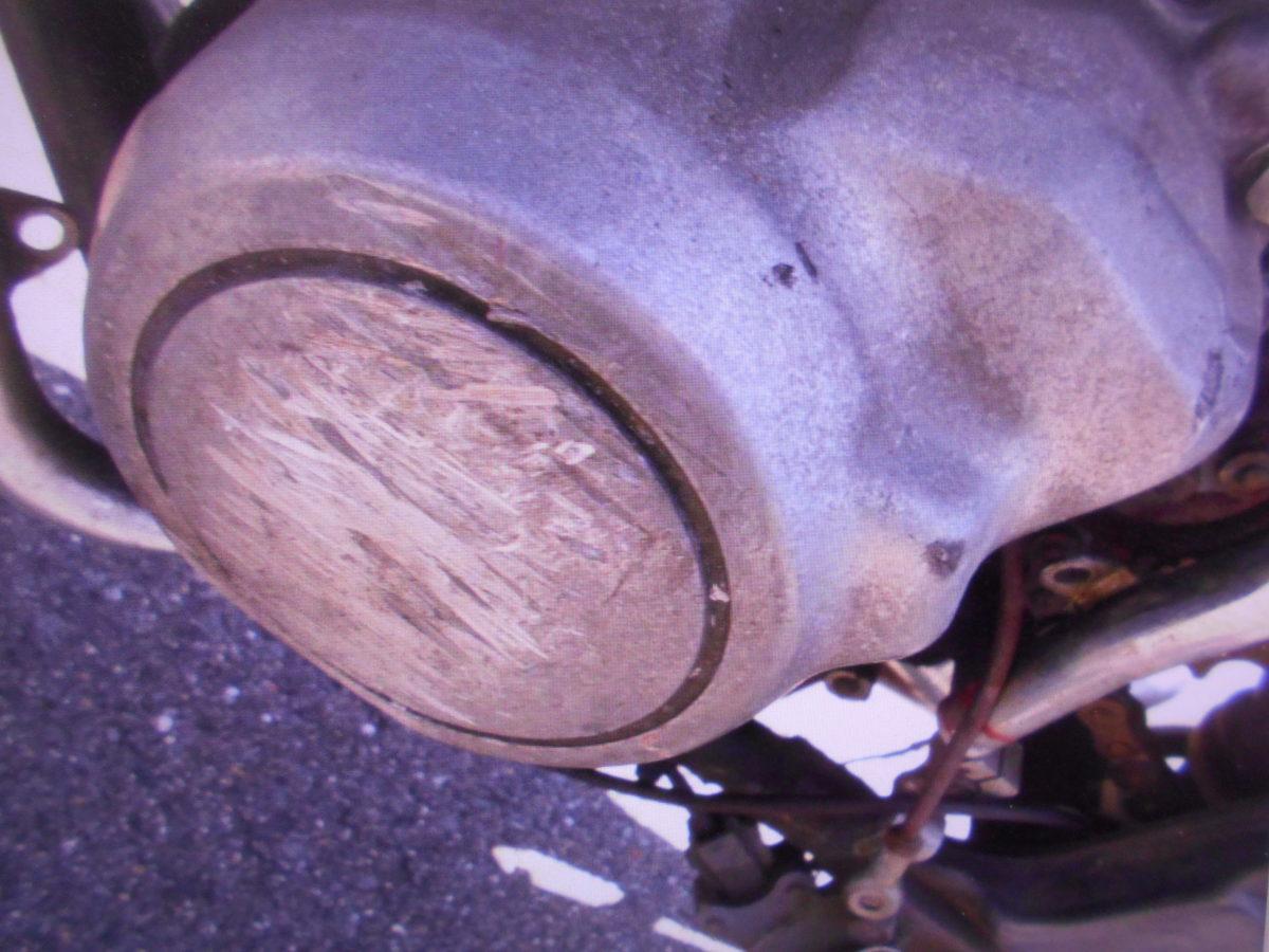 「絶版 旧車 カワサキ バリオス250A1 部品取り車 書類なし 中古部品取りに マニア館 ギフトップ」の画像3