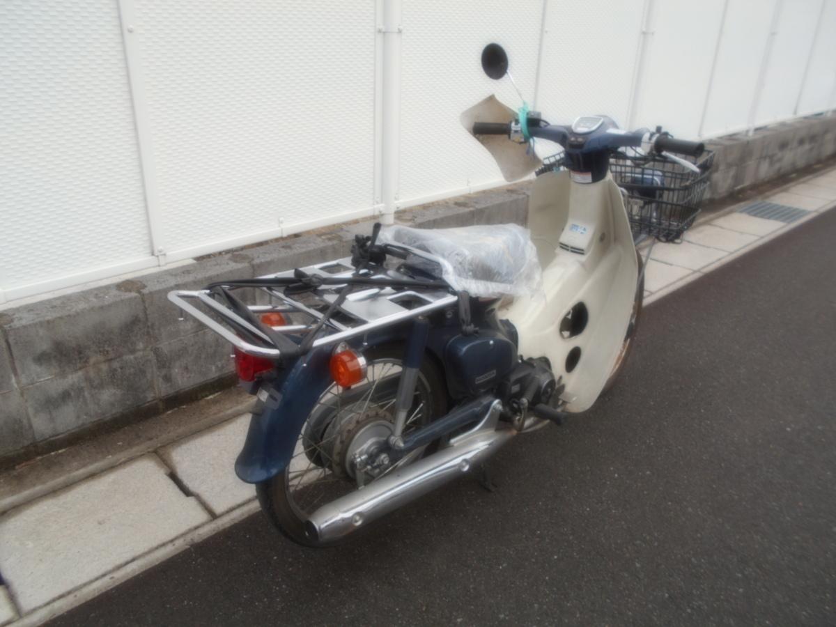 「絶版廃盤ホンダプレスカブAA01ビッグドラム不動ジャンク!マニア館趣味のバイクギフトップトレ-ディング」の画像3