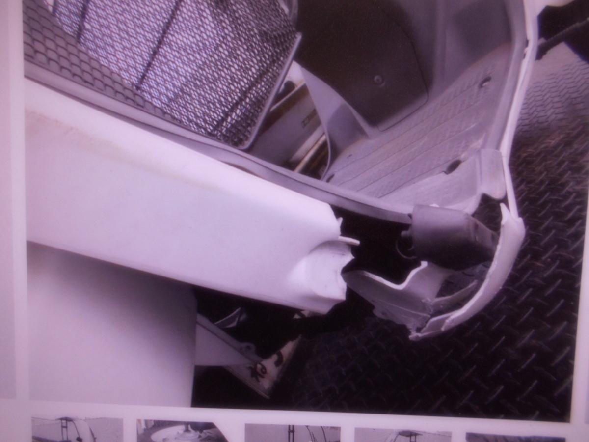 「絶版旧車廃盤ホンダ 2ストキャノピ-TA02ベ-スマニア館 現状車 絶版旧車  ジャンク 部品取り」の画像3