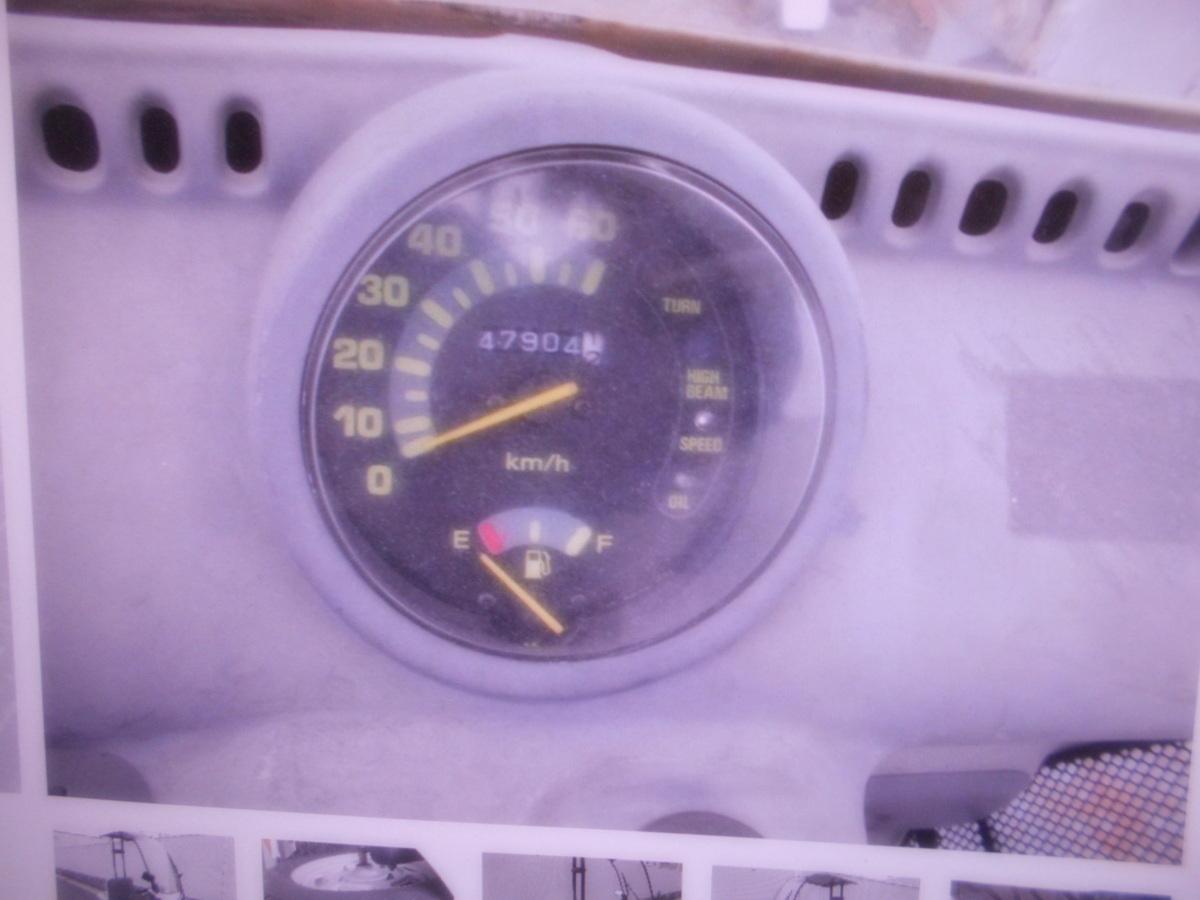 「絶版旧車廃盤ホンダ 2ストキャノピ-TA02ベ-スマニア館 現状車 絶版旧車  ジャンク 部品取り」の画像2