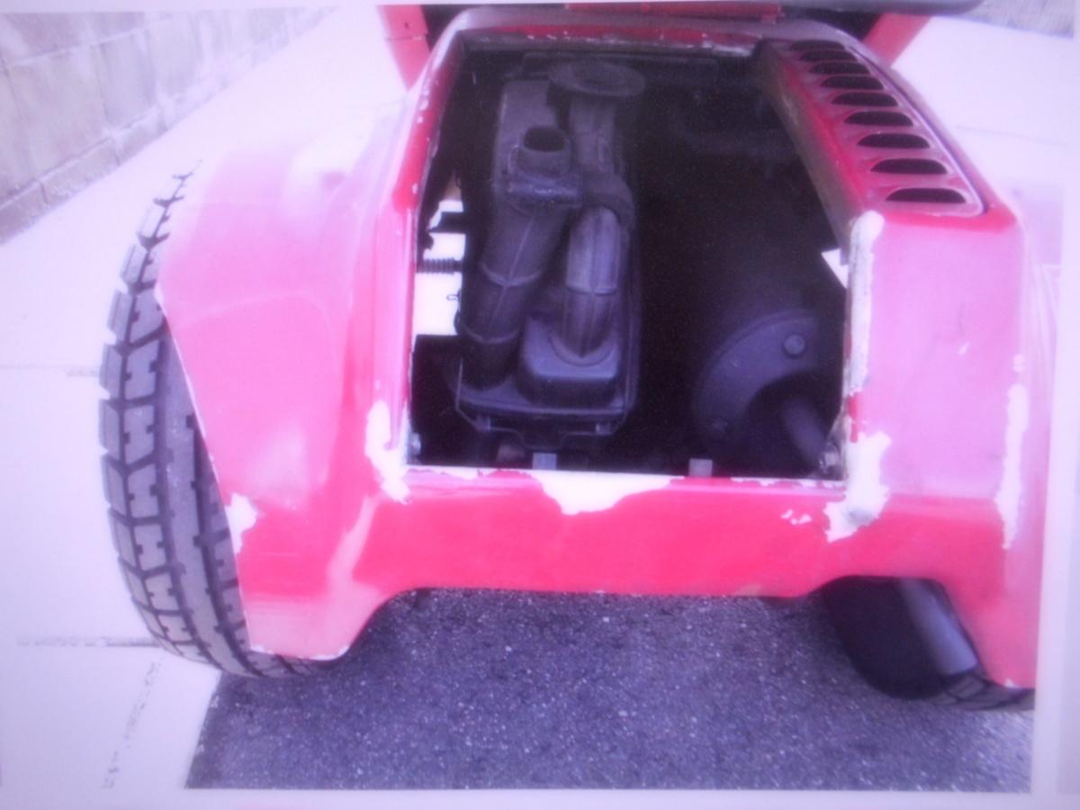「絶版廃盤旧車ホンダ岐阜 2ストキャノピ-TA02 現状車ベース 部品取り 車幅ワイド」の画像2
