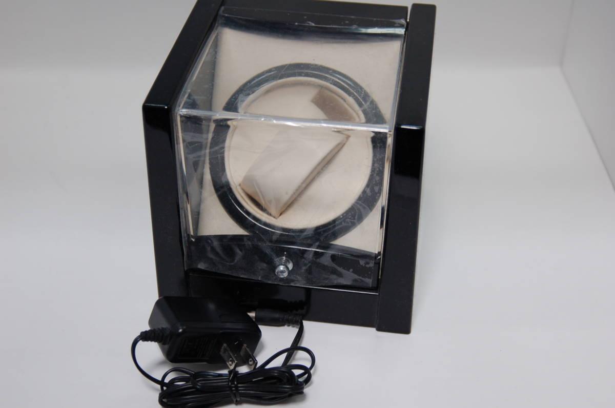 ジャンク★ ワインディングマシン、1ワインディング  腕時計 自動巻き上げ機 時計ワインダー■時計収納ケース、コレクションケース_画像1