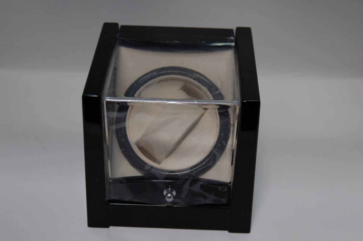 ジャンク★ ワインディングマシン、1ワインディング  腕時計 自動巻き上げ機 時計ワインダー■時計収納ケース、コレクションケース_画像2