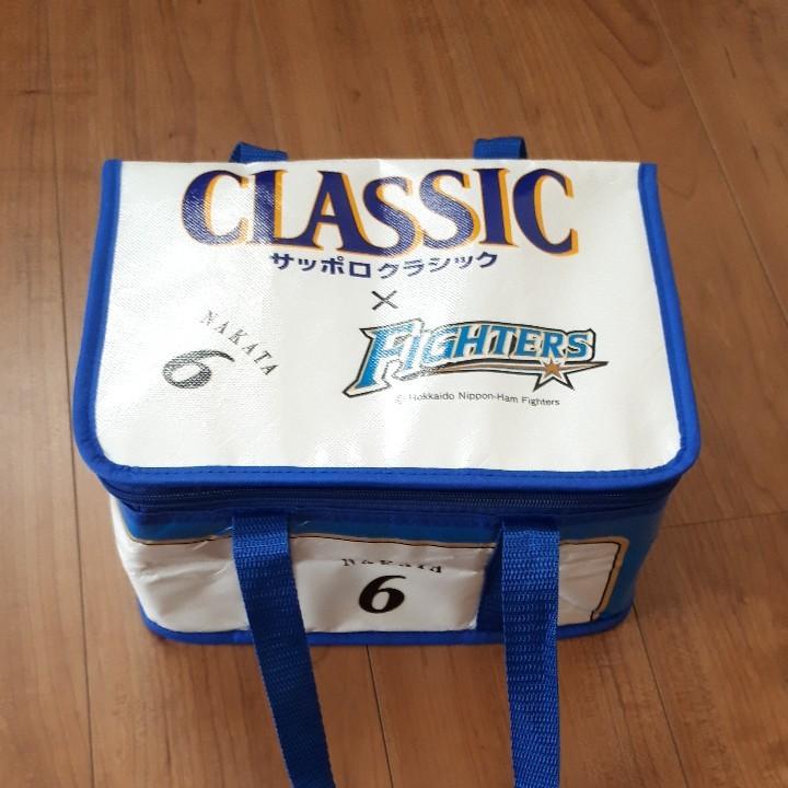 サッポロクラシック×ファィターズ 12缶  クーラーバッグ 保冷バッグ