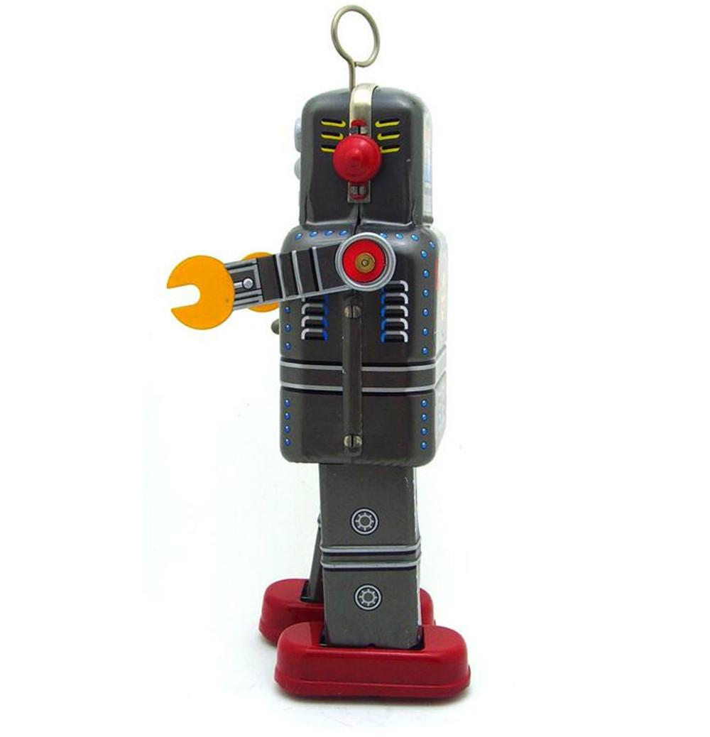 おもちゃ ロボット ブリキ ヴィンテージ レトロ おしゃれ 置物 オブジェ アンティーク プレゼント リビング 玄関 子供 M1097a 1231_画像4