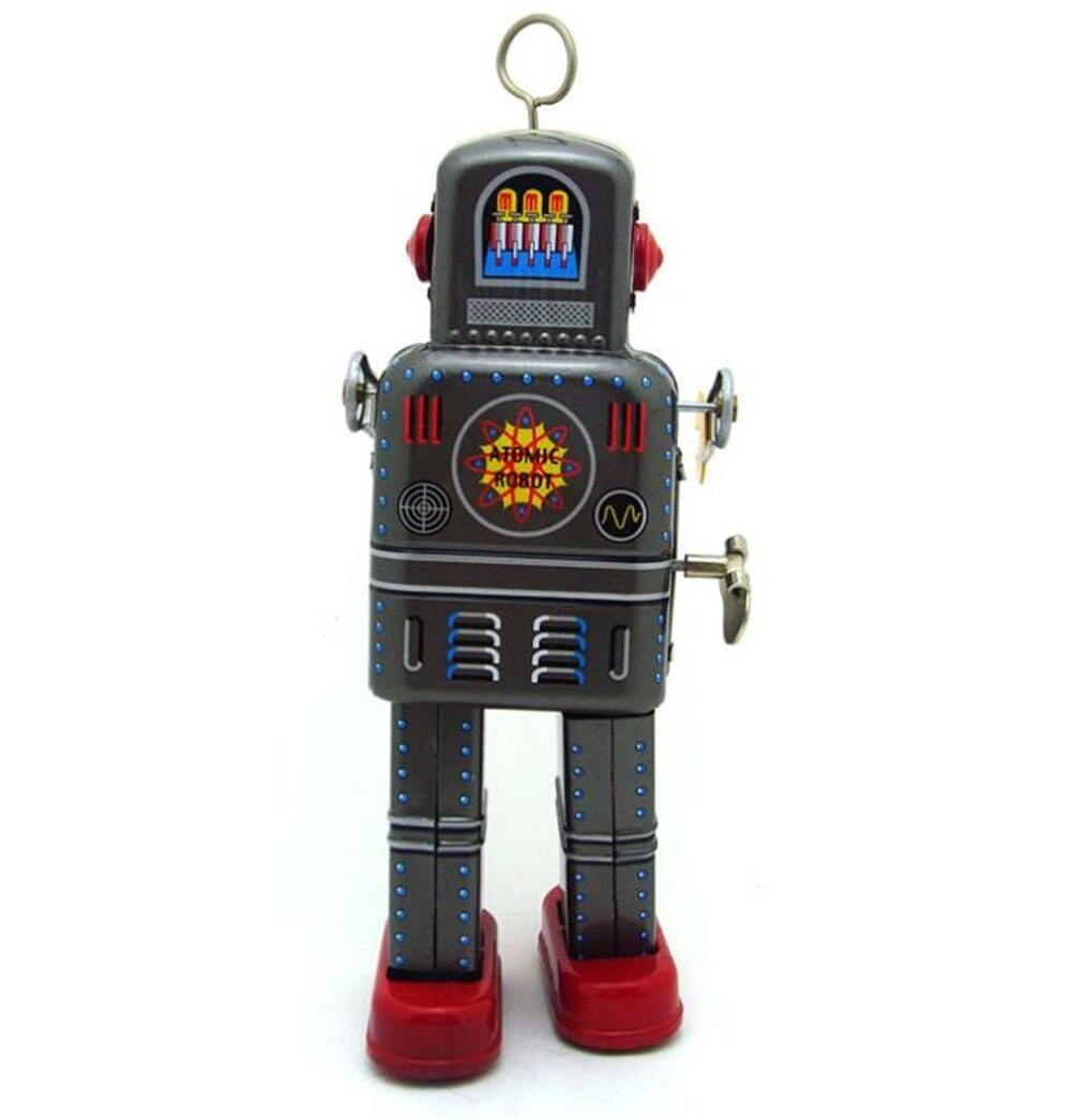 おもちゃ ロボット ブリキ ヴィンテージ レトロ おしゃれ 置物 オブジェ アンティーク プレゼント リビング 玄関 子供 M1097a 1231_画像3