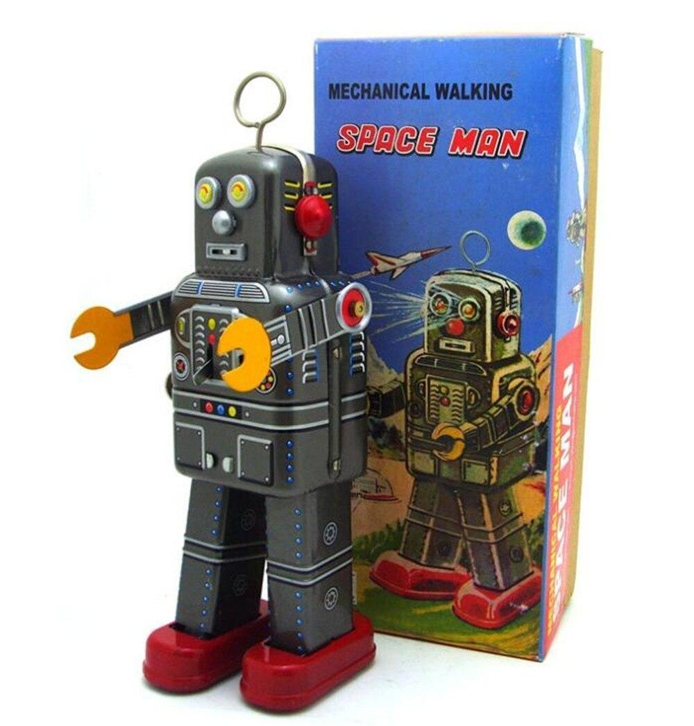 おもちゃ ロボット ブリキ ヴィンテージ レトロ おしゃれ 置物 オブジェ アンティーク プレゼント リビング 玄関 子供 M1097a 1231_画像1