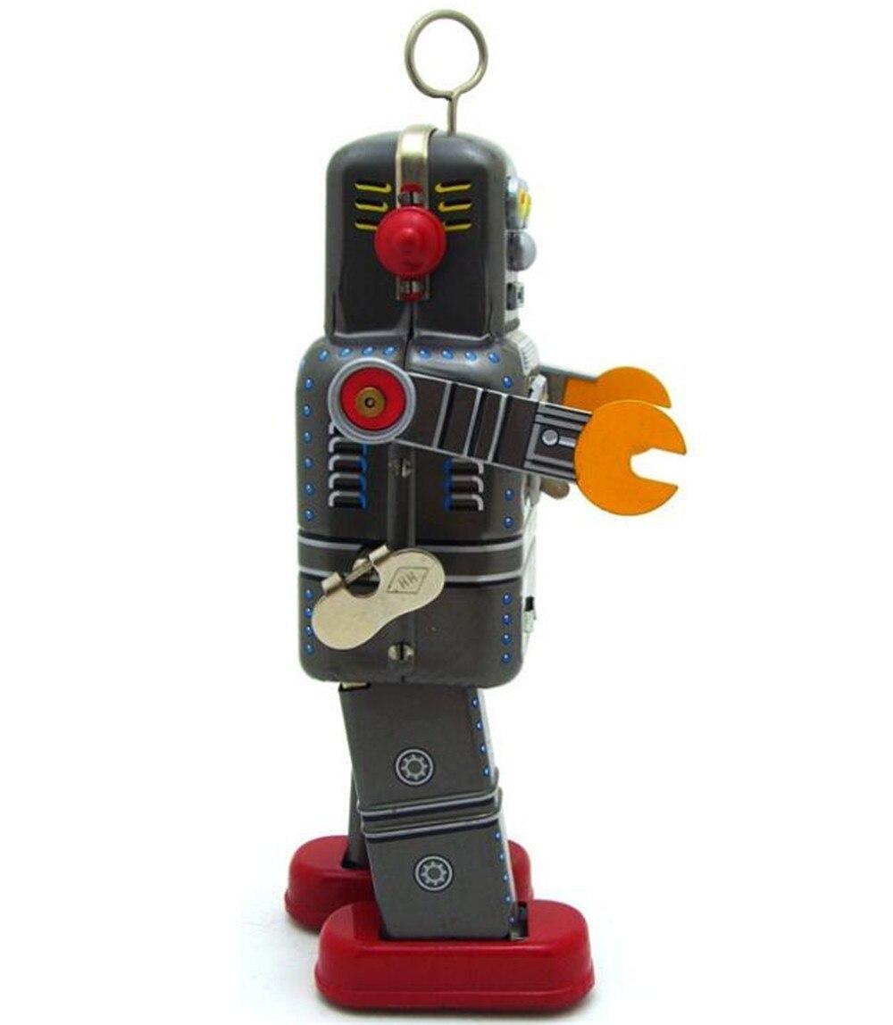 おもちゃ ロボット ブリキ ヴィンテージ レトロ おしゃれ 置物 オブジェ アンティーク プレゼント リビング 玄関 子供 M1097a 1231_画像6