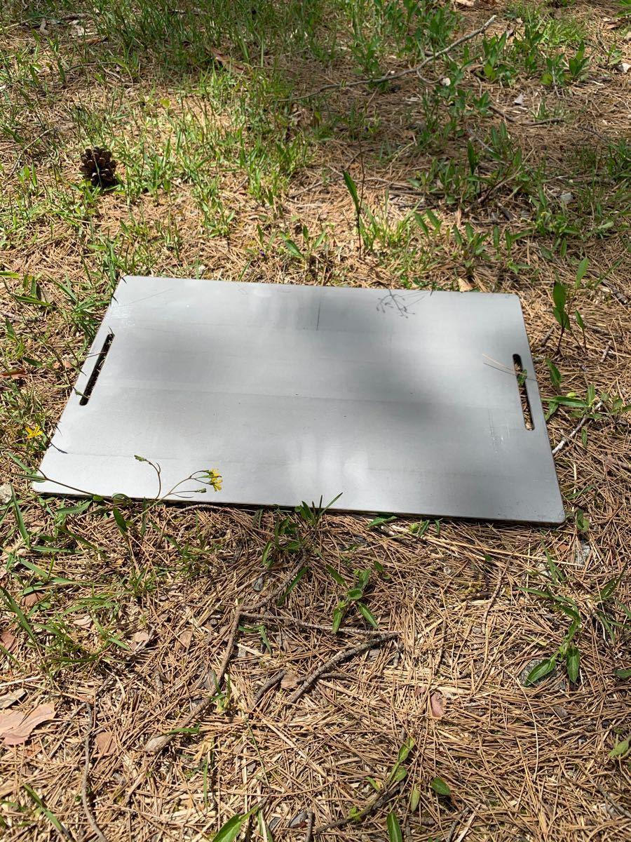 ヘラ付き コールマン クールステージ 6mm 鉄板