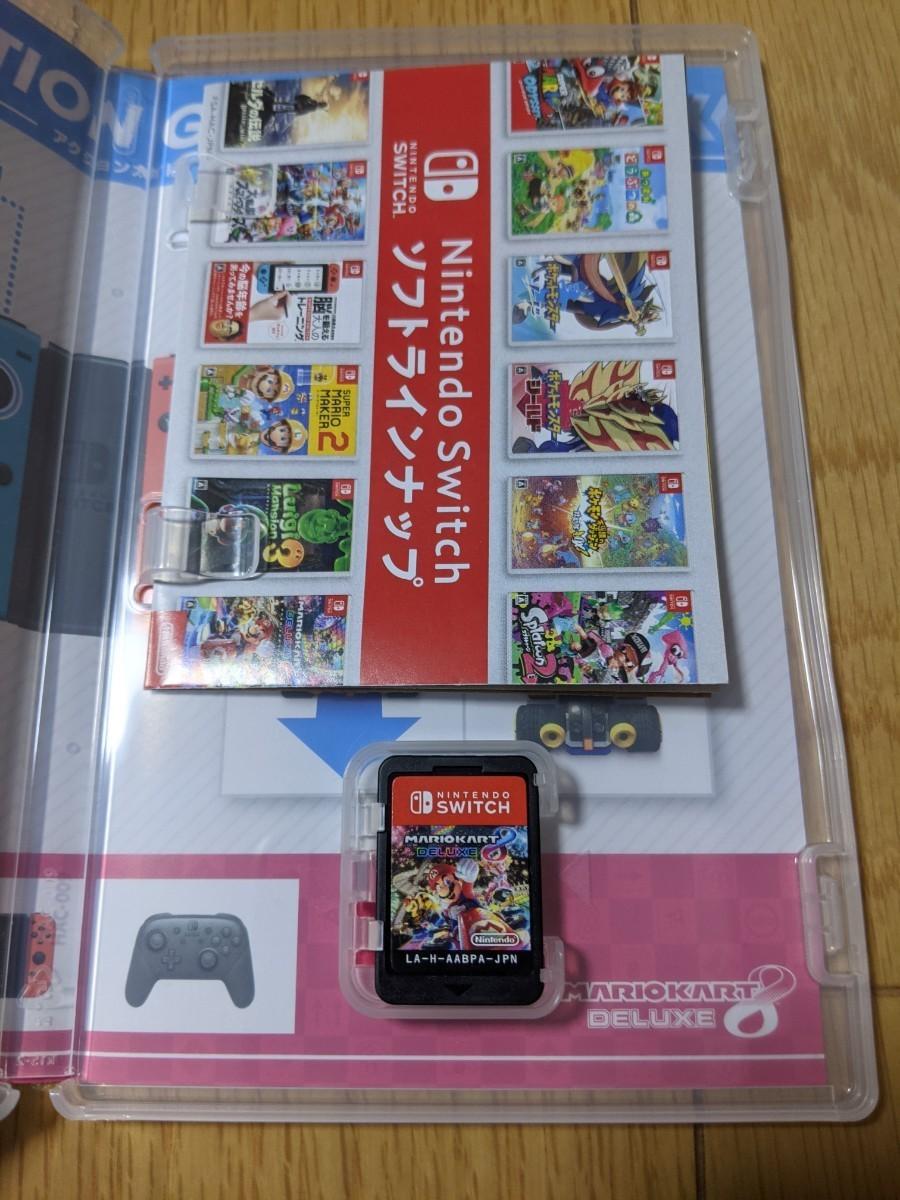 Switch  マリオカート8デラックス&スーパーマリオパーティ 2本セット