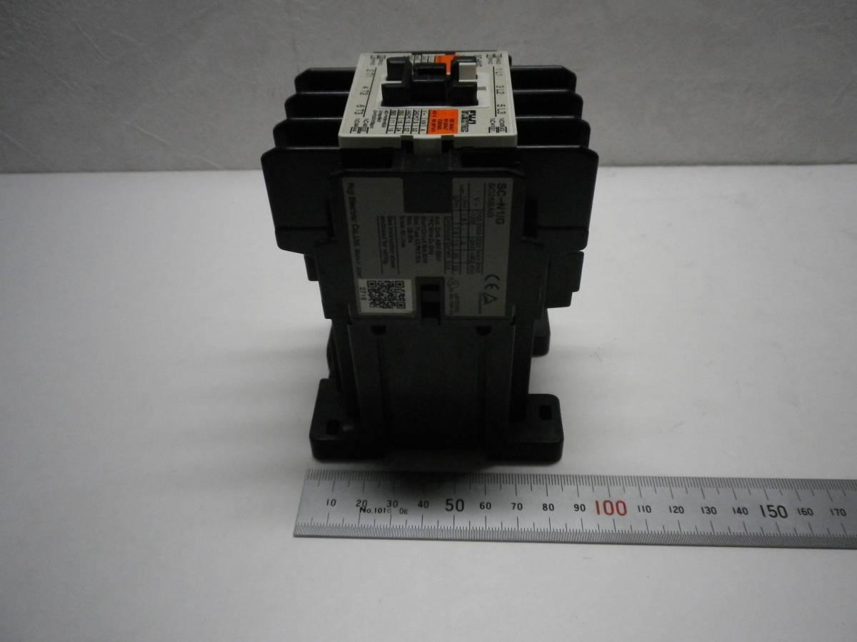 Fuji Electric SC-N1/G DC24V AUX 2a2b Magnetic Contactor 電磁接触器 富士電機 説付 未使用/経年品/動作不詳 送料無料 熊五郎の電機 0042_画像5