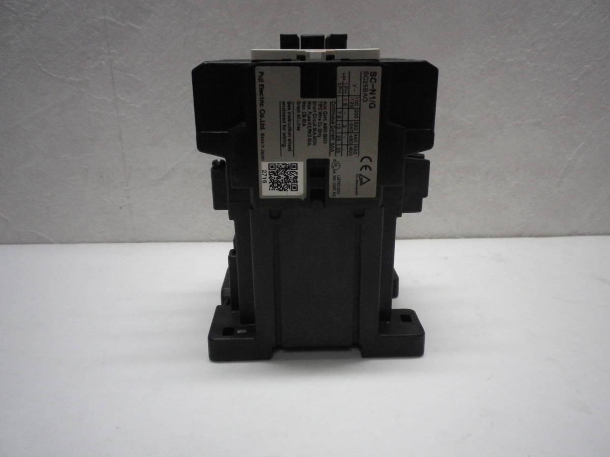 Fuji Electric SC-N1/G DC24V AUX 2a2b Magnetic Contactor 電磁接触器 富士電機 説付 未使用/経年品/動作不詳 送料無料 熊五郎の電機 0042_画像7