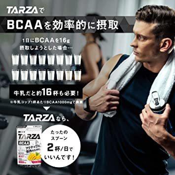 500g TARZA(ターザ) BCAA 8000mg アミノ酸 クエン酸 パウダー マンゴー風味 国産 500g_画像5