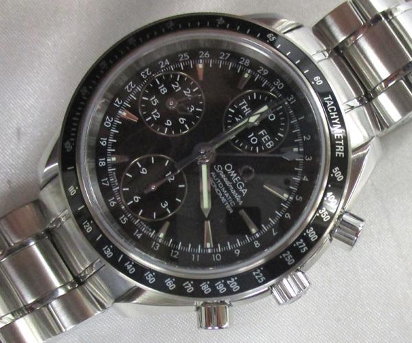 オメガ スピードマスター デイデイト トリプルカレンダー 3220.50.00 OMEGA 腕時計 末使用_画像1