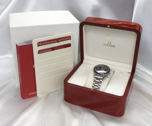 オメガ スピードマスター デイデイト トリプルカレンダー 3220.50.00 OMEGA 腕時計 末使用_画像9