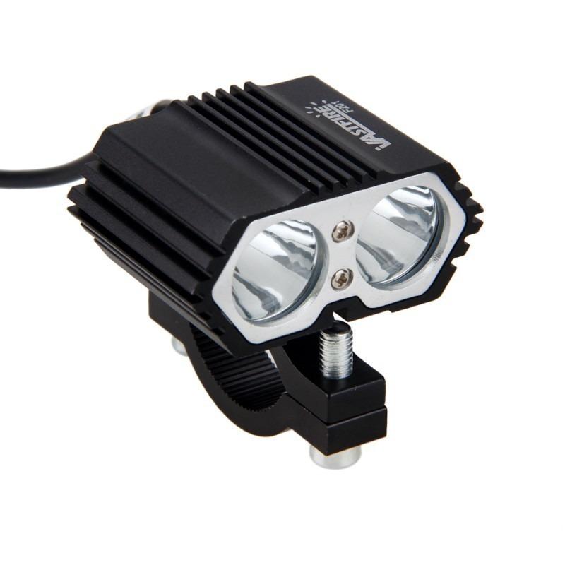 ★送料無料★ 2個セット 30W 5000LM オートバイヘッドライト スポットライト2x XM-L T6 LEDフォグランプ付き スイッチ付き_画像6