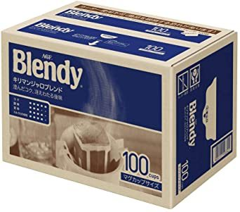 AGF ブレンディ レギュラーコーヒー ドリップパック キリマンジャロブレンド 100袋 【 ドリップコーヒー 】_画像1