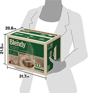 AGF ブレンディ レギュラーコーヒー ドリップパック キリマンジャロブレンド 100袋 【 ドリップコーヒー 】_画像6