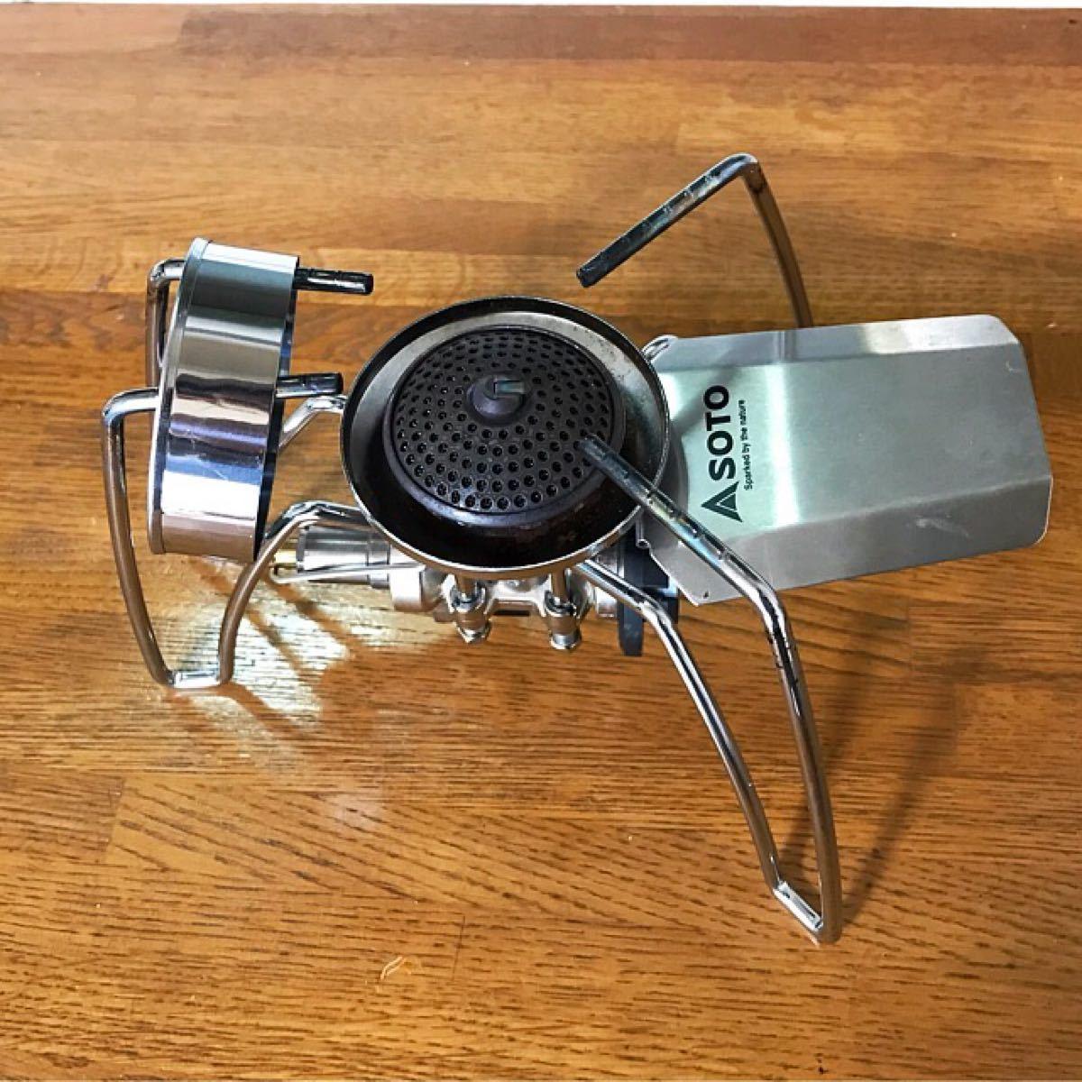 新品♪日本製 SOTO ソト♪ST-310用 風防♪ウインドスクリーン♪ST310 シングルバーナー 新富士バーナー CB缶