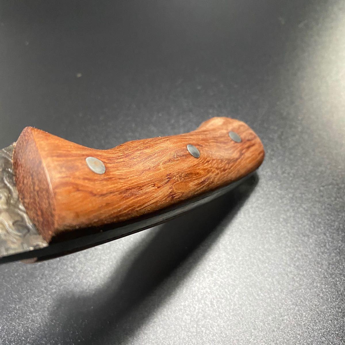 シースナイフ フィックスブレード サバイバルナイフ バトニングナイフレザーケース