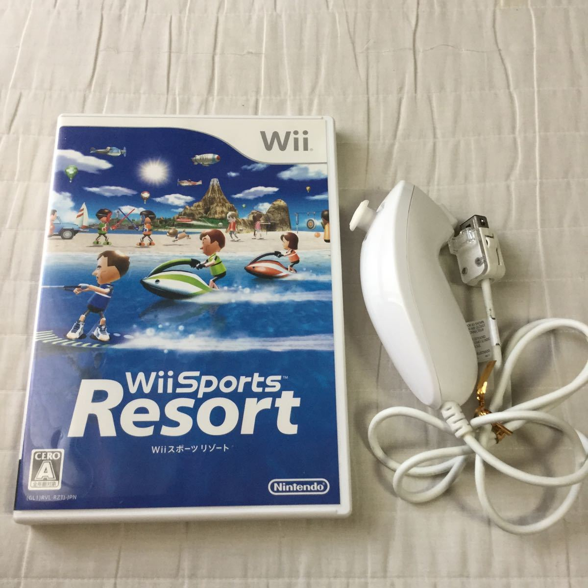 Wiiスポーツリゾート Wiiスポーツ Wii Sports Resort ヌンチャク 即決 迅速発送 匿名取引