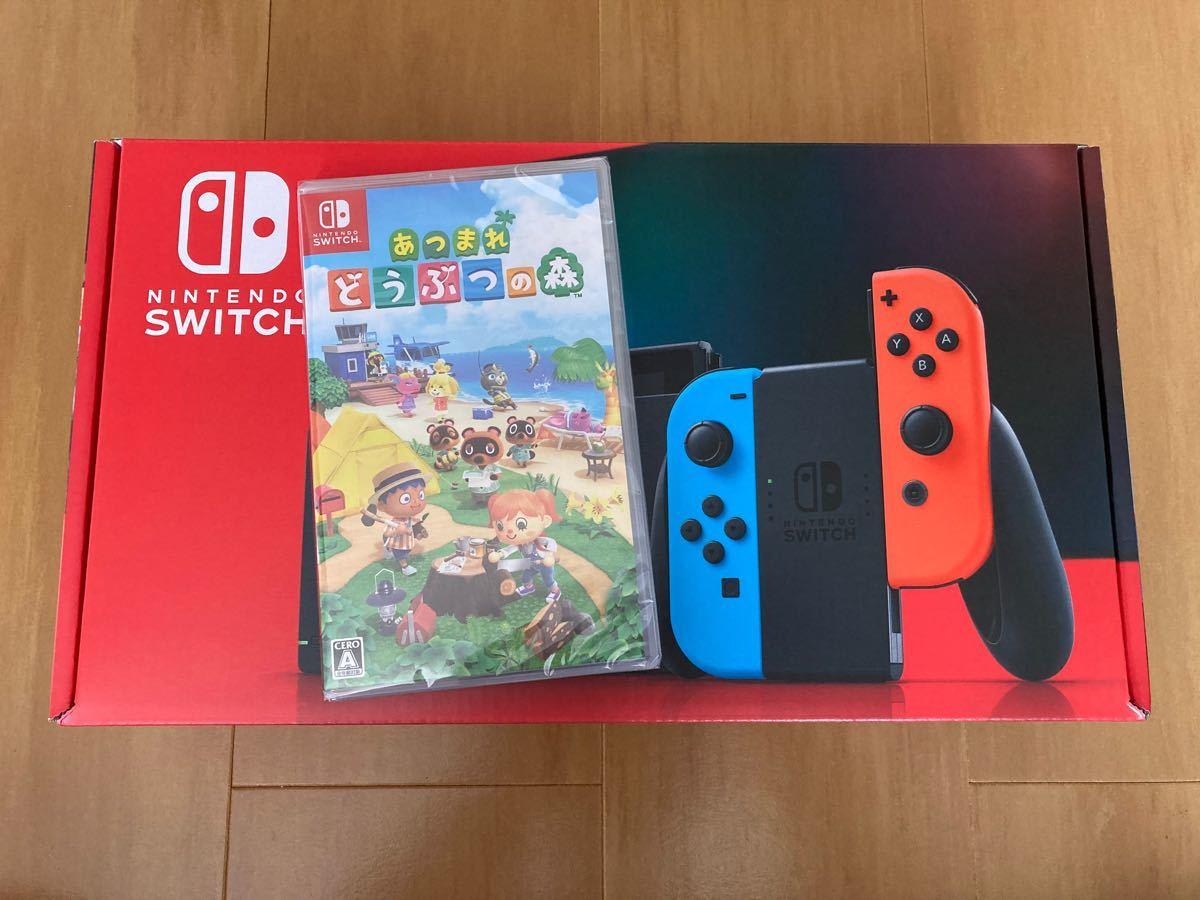 Nintendo Switch 本体 Joy-Con どうぶつの森ソフト付き