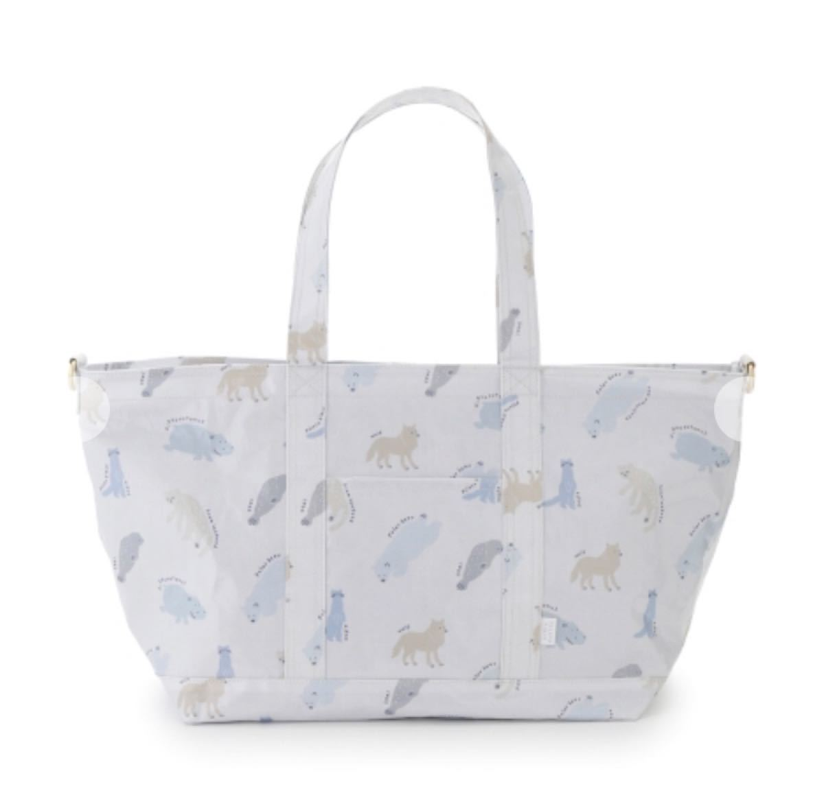 gelato pique【旭山動物園】ペイントアニマルママバッグ マザーズバッグ トートバッグ