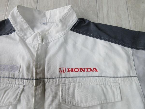 『 お値段交渉 大歓迎 ♪』《Bigサイズ!》【 ホンダ・HONDA 】作業服!長袖メカニックツナギ・オールインワン・3L_画像7