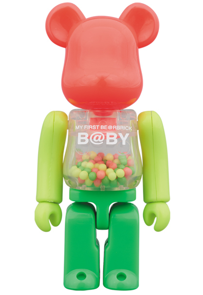 MY FIRST BE@RBRICK B@BY NEON Ver. 100% ベアブリック_画像1