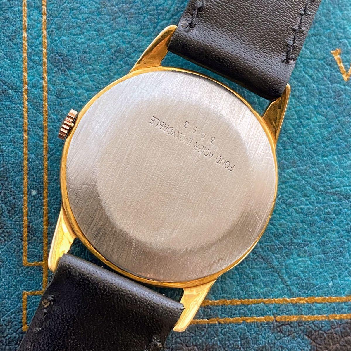 激レア【OH済】ロレックス ■ ROLEX ジュネーブ 14KGP 1950年代 アンティーク 中古 メンズ 手巻き 機械式腕時計 ビンテージ 美品 レア_画像4