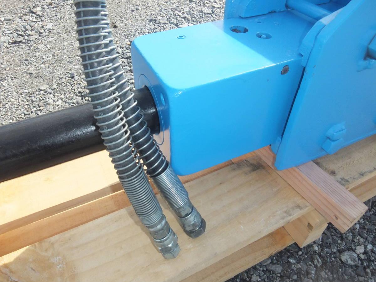福岡県 油圧ブレーカー0.1クラス 納品後の保障付きです。 割岩機 ユンボアタッチメント 解体業バックホー油圧ショベル3819_美品です。納入後の保障付けます。