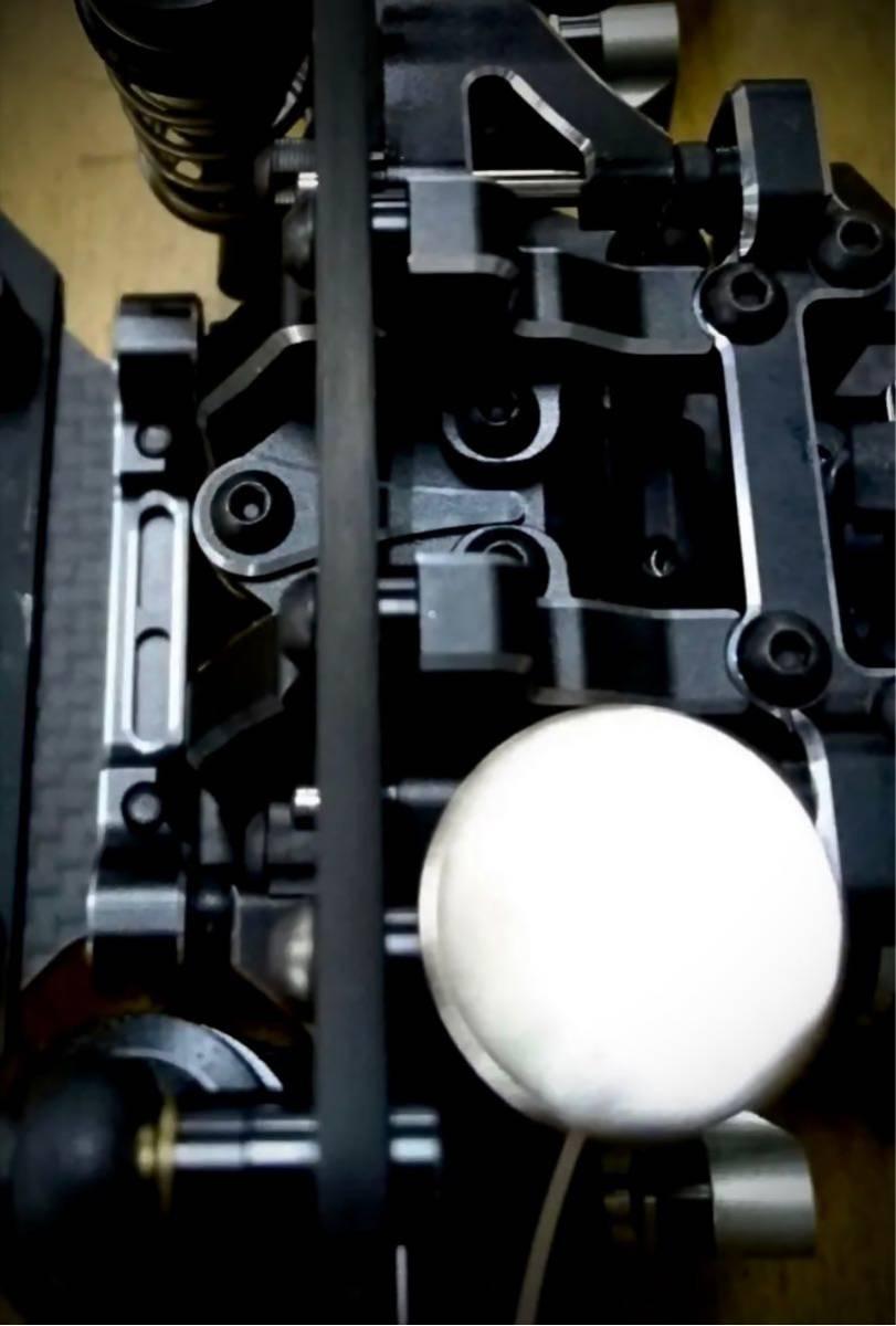 ヨコモ YD-2用 カーボン製 軽量フロントダンパーステー 新品 蕨山Carbon