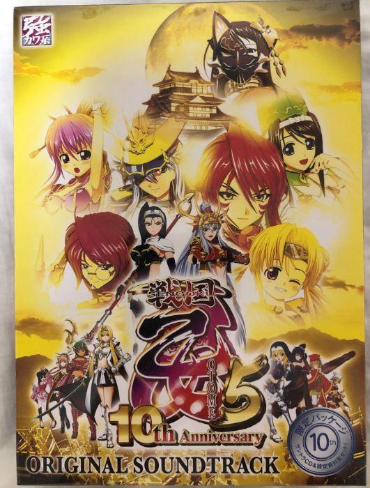 CR戦国乙女5 10th Anniversary オリジナルサウンドトラック 限定パッケージ_画像1