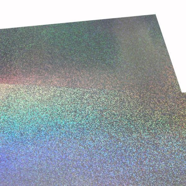 大判ホログラムシート紙 粘着なし 1枚セット サンド こんなの欲しかった 切って使える 裏面白紙 包装紙 折り紙_画像1