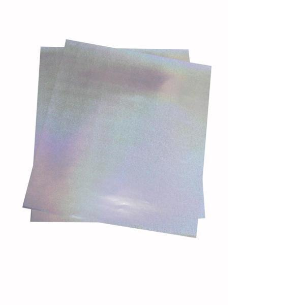 大判ホログラムシート紙 粘着なし 1枚セット サンド こんなの欲しかった 切って使える 裏面白紙 包装紙 折り紙_画像4