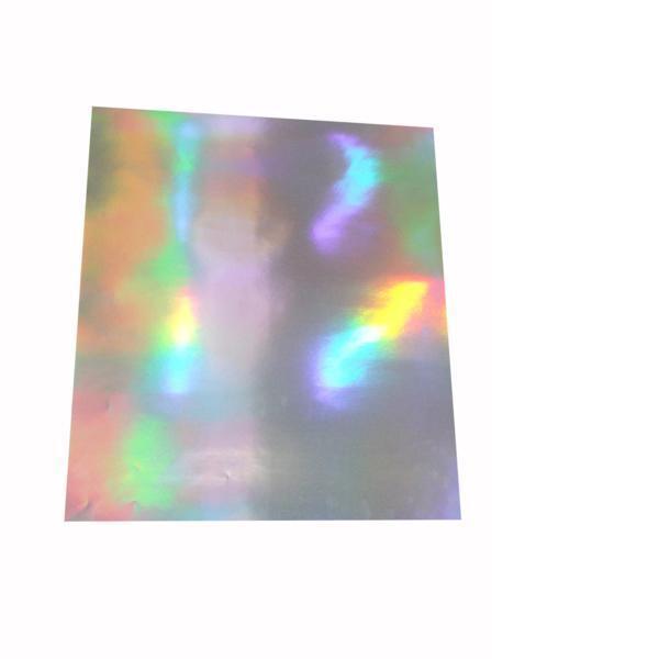 大判ホログラムシート紙 粘着なし お徳用10枚セット レインボー こんなの欲しかった 切って使える 裏面白紙 包装紙 折り紙_画像3