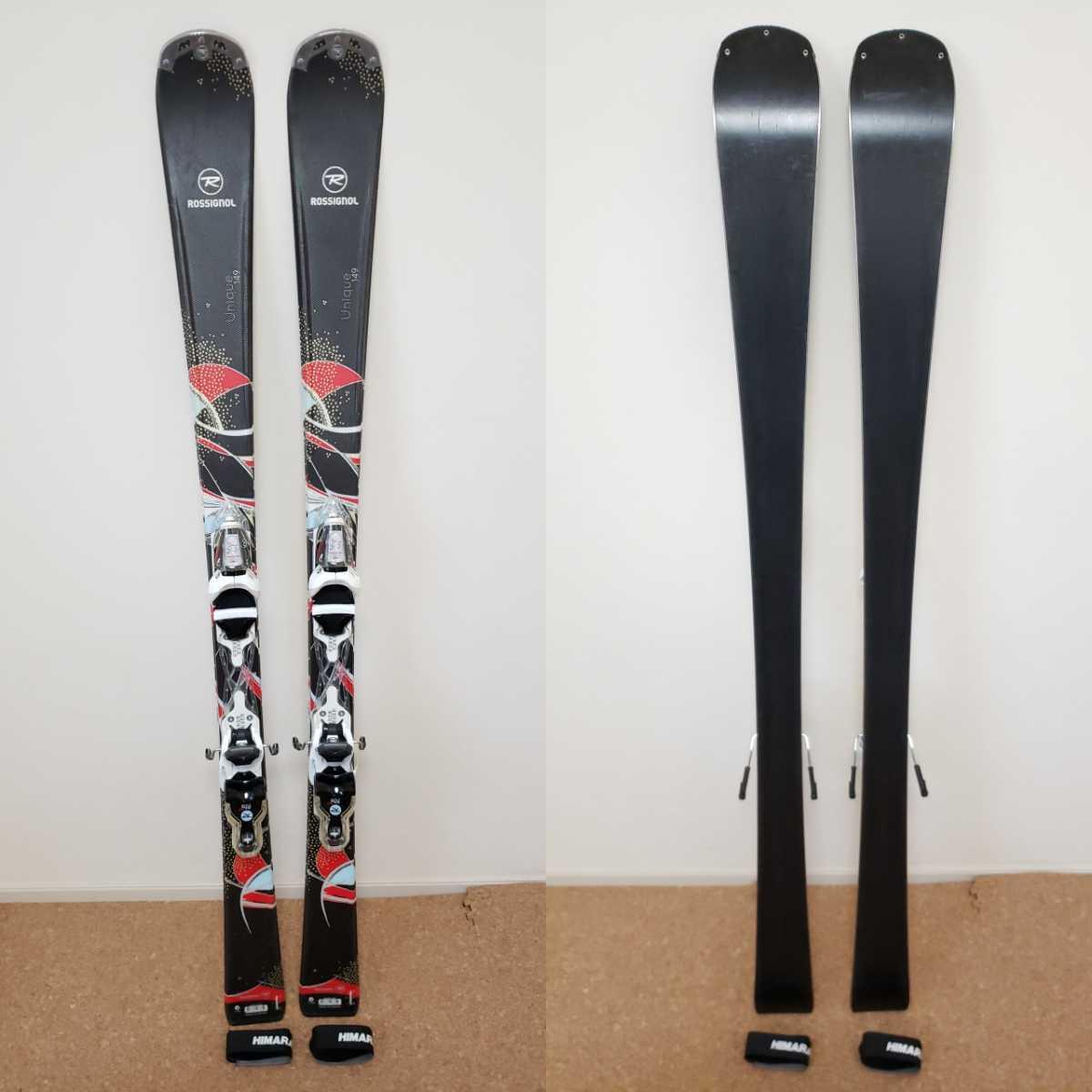 美品★ROSSIGNOL/ロシニョール 149cm ビンディング付き スキー板_画像1