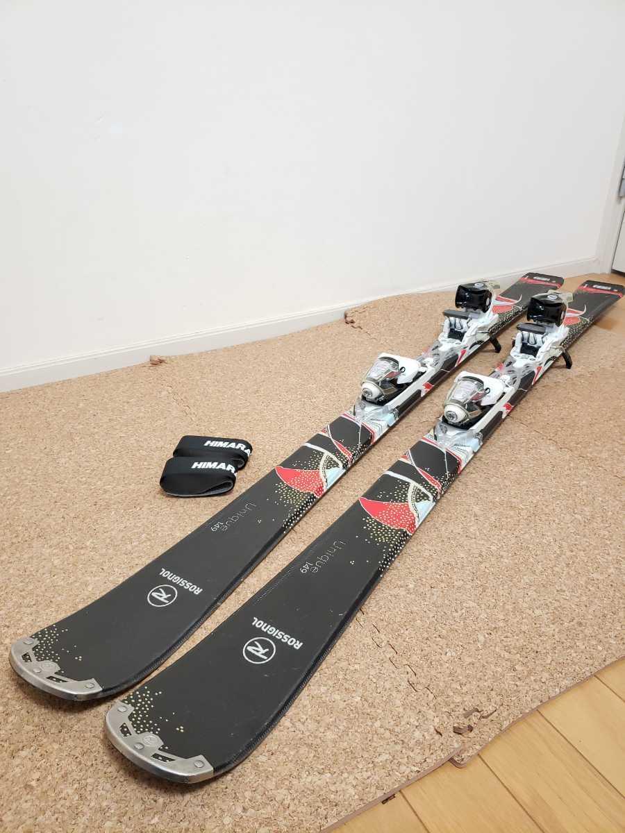 美品★ROSSIGNOL/ロシニョール 149cm ビンディング付き スキー板_画像2