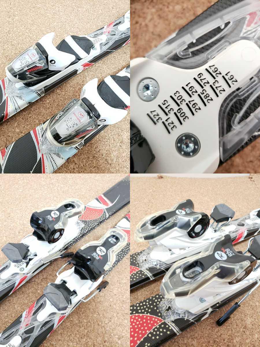 美品★ROSSIGNOL/ロシニョール 149cm ビンディング付き スキー板_画像6