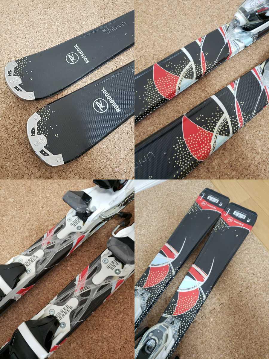 美品★ROSSIGNOL/ロシニョール 149cm ビンディング付き スキー板_画像8