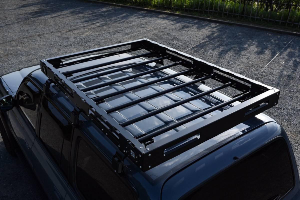 [在庫有即納][当社オリジナル] トヨタ ハイラックス 125 専用 ルーフラック ルーフキャリア LED SUV ランクル ハイラックス プラド サーフ_画像10