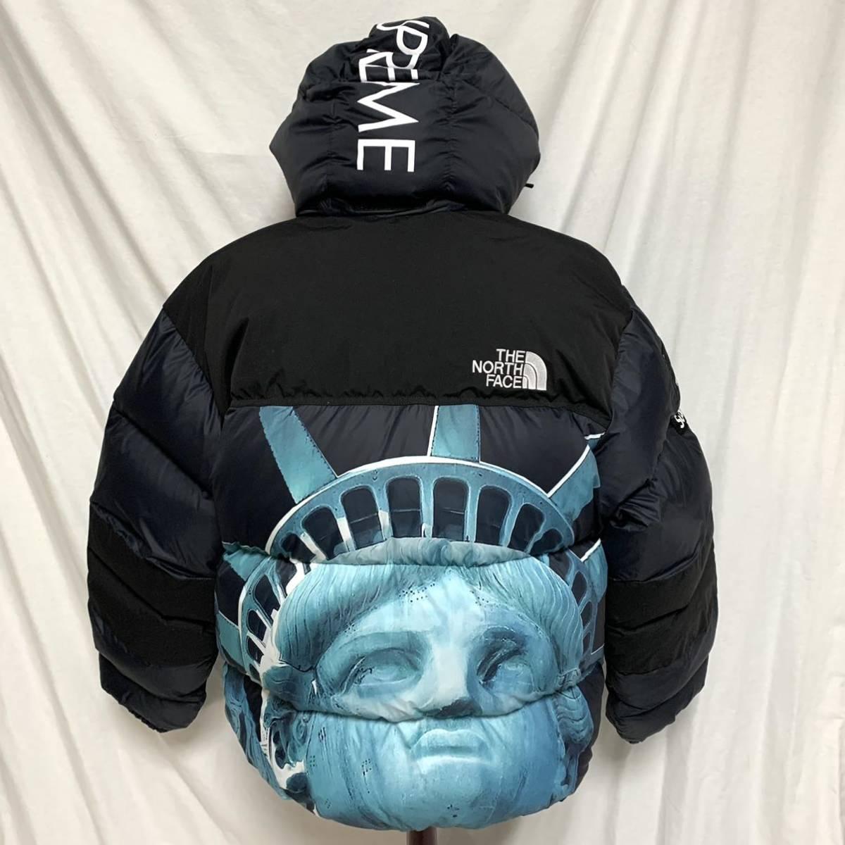 美品Supreme 19AW The North Face Statue of Liberty Baltoro Jacket シュプリーム ザノースフェイス 自由の女神 バルトロダウンジャケット_画像2