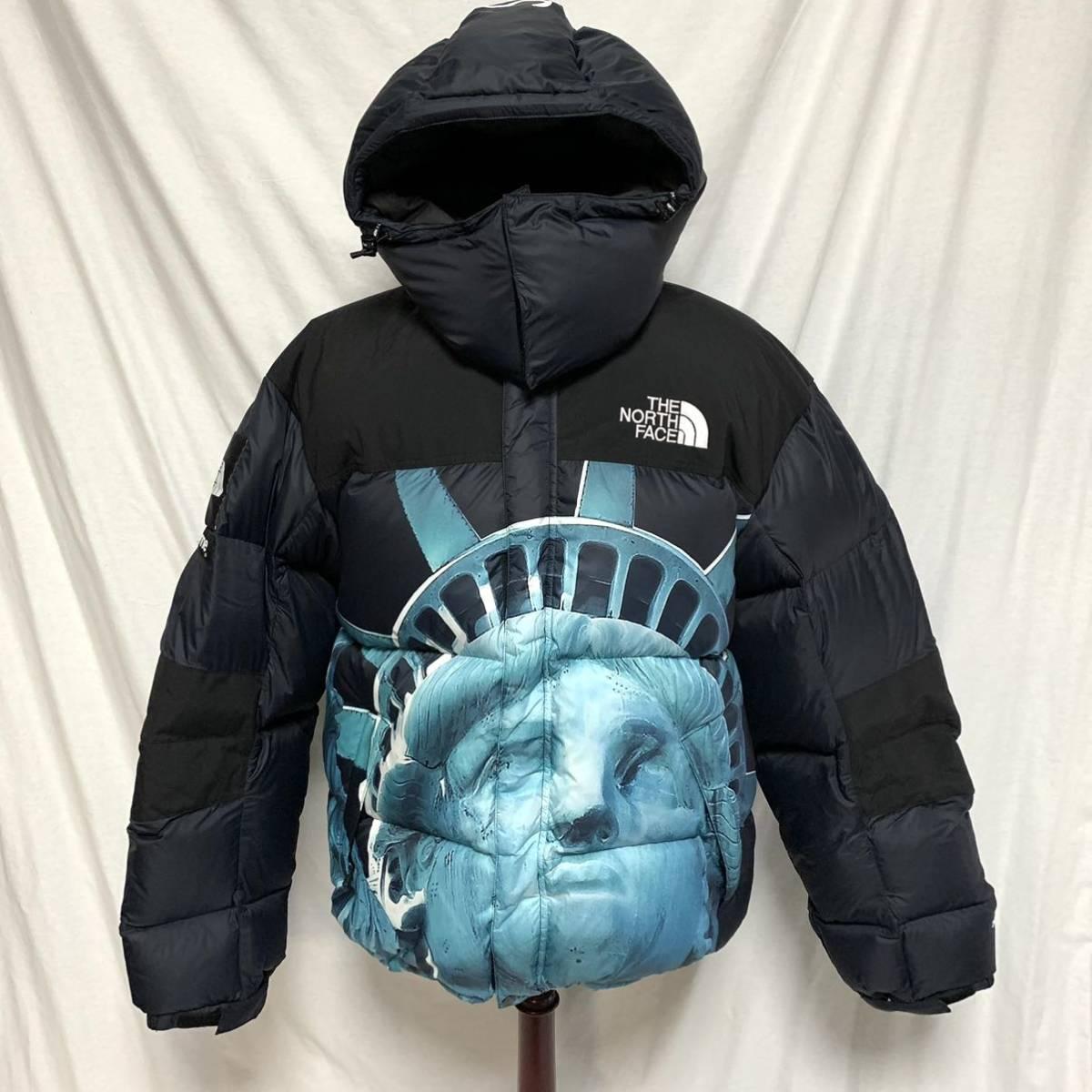 美品Supreme 19AW The North Face Statue of Liberty Baltoro Jacket シュプリーム ザノースフェイス 自由の女神 バルトロダウンジャケット_画像1
