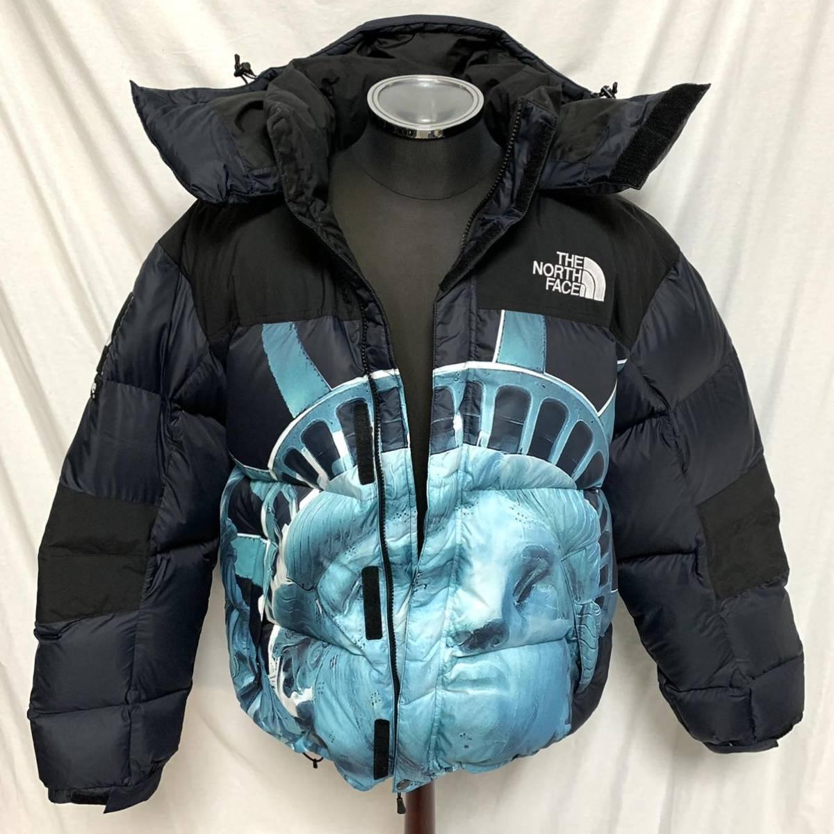 美品Supreme 19AW The North Face Statue of Liberty Baltoro Jacket シュプリーム ザノースフェイス 自由の女神 バルトロダウンジャケット_画像3