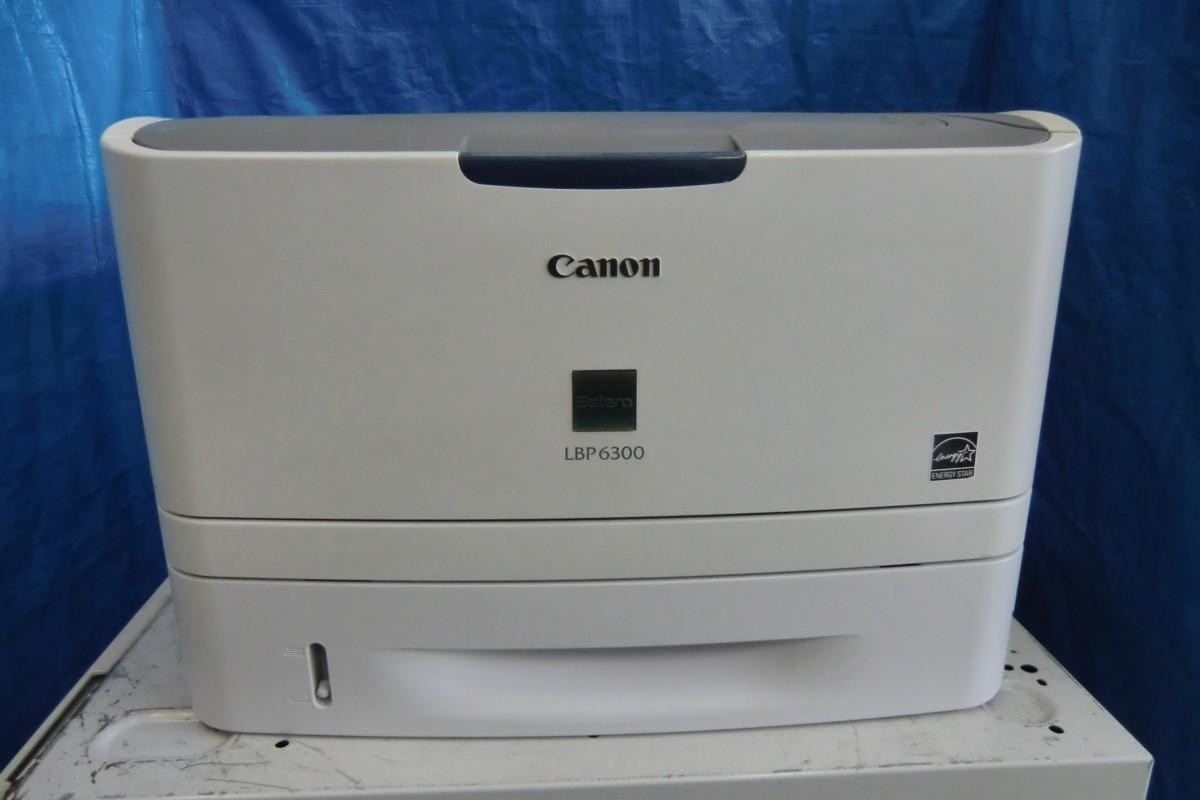 ◆中古レーザープリンタ《Canon LBP6300》トナーなし◆_画像1