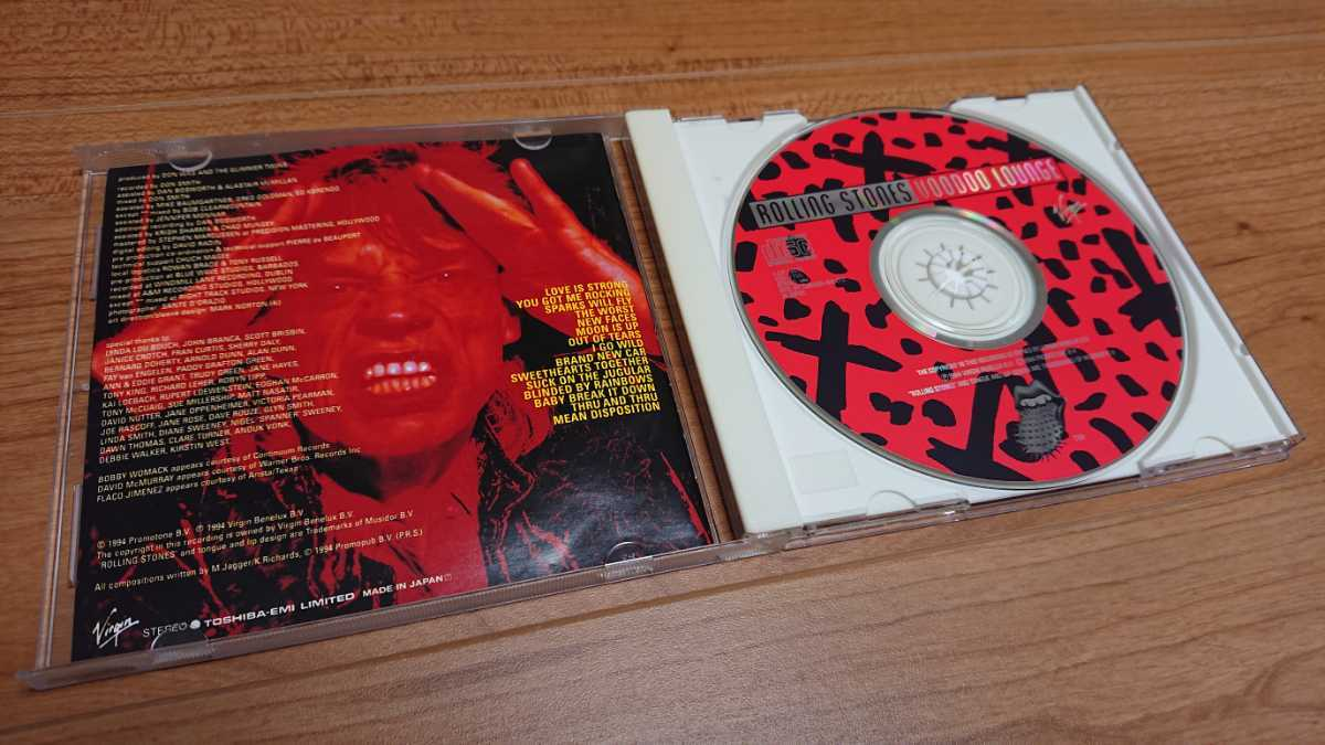 The Rolling Stones / ザ・ローリング・ストーンズ Voodoo Lounge 国内盤 帯あり