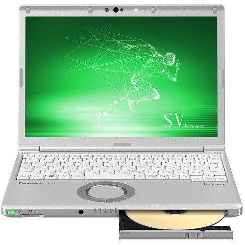 新品未使用 パナソニック Let's note CF-SV8CDFPR/12.1インチ/Core i5/SSD128GB/メモリ8GB/顔認証/Office365おまけ/シルバー