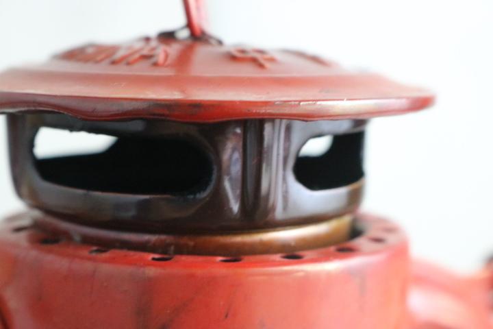 TB526燕牌 マウントランプ 箱付◇SWALLOW BRAND/オイルランプ/ハリケーンランプ/ランタン/芯上下OK/実用不明/古道具タグボート_画像7